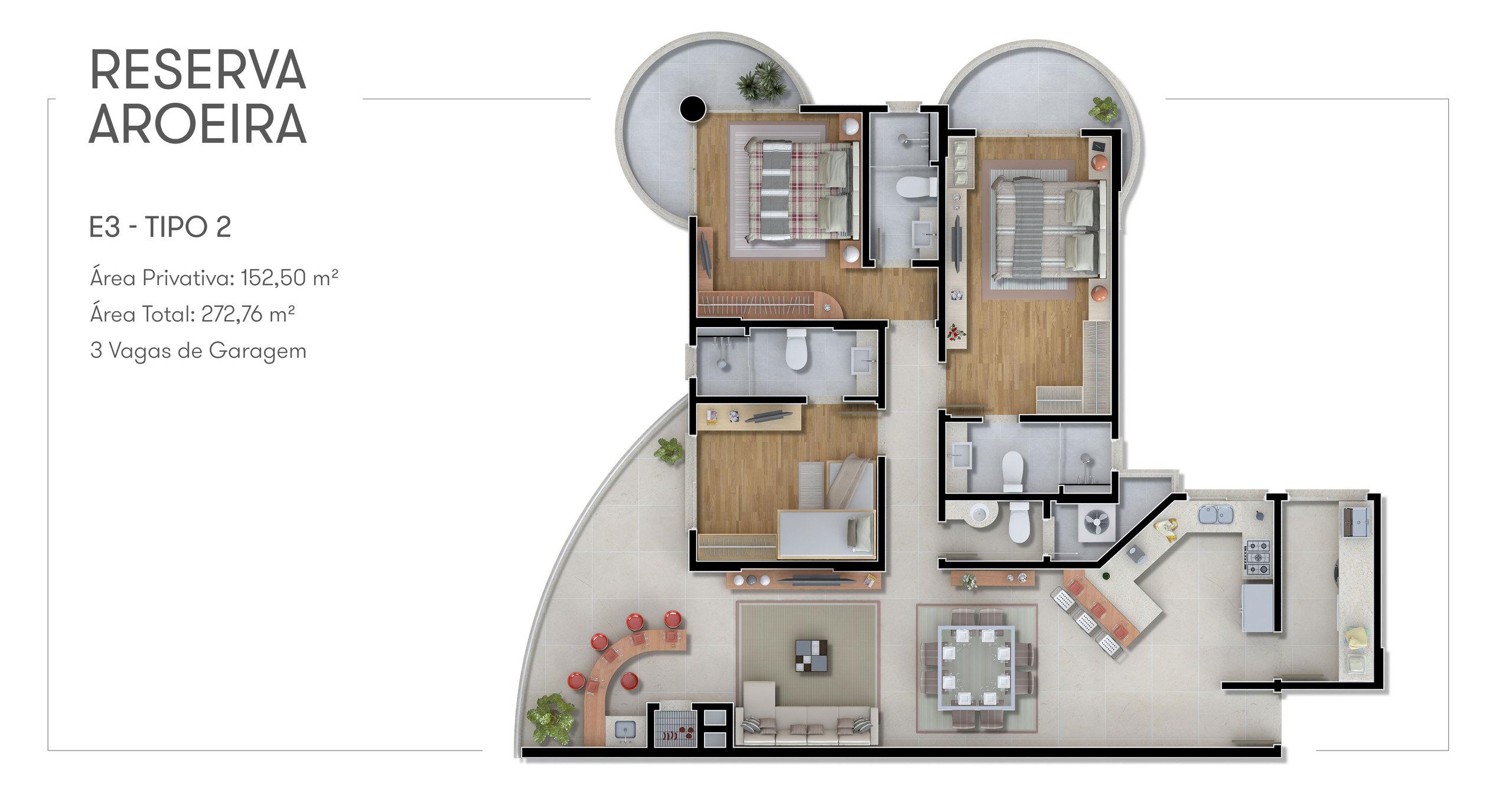 Reserva Aroeira - Apartamento Tipo